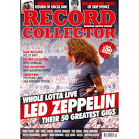 record collector cover SEPTEMBER 2018
