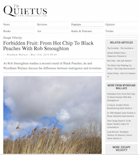 The Quietus Black Peaches May 2019
