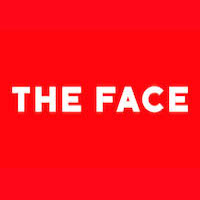 the face logo