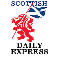 Scottish Daily Express cover